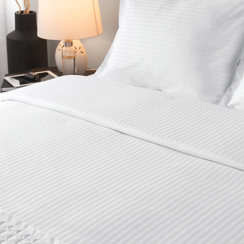 Hotel 250TC Stripe Blend Dolce Notte Sheet Set