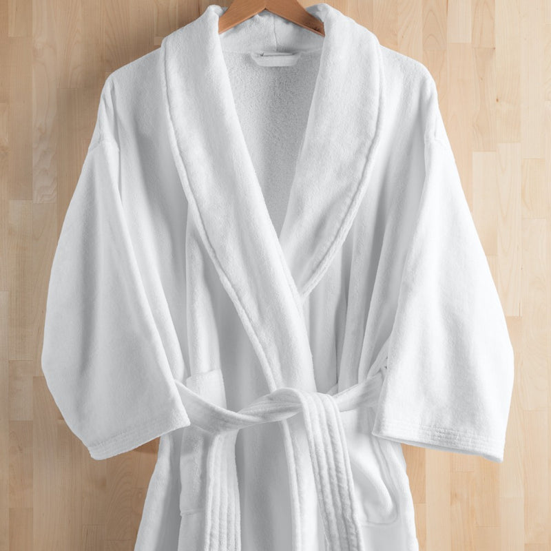Spa Five Star Terry Velour Bath Robe Urbana