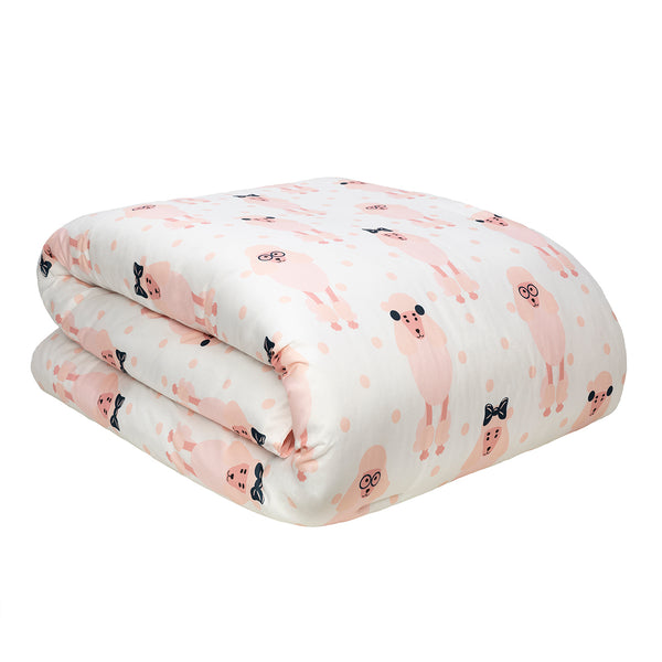 Dog Whisperer Pink Lady Comforter Set & Pet Bed