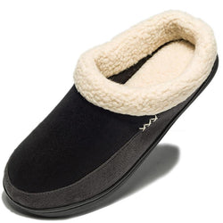 Warm Cotton Slippers Men Shoes Bathroom Indoor Man Winter Fur Shoes