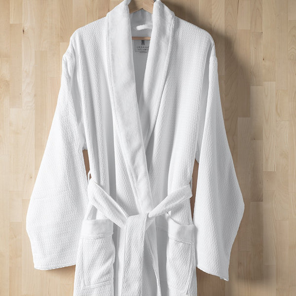 Spa Glow Diamond Jacquard Bath Robe Urbana