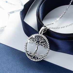 Silver goddess pendant necklace - Jewels Lane Co.
