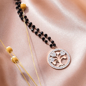 Lucky Tree Pendant Necklace - Jewels Lane Co.
