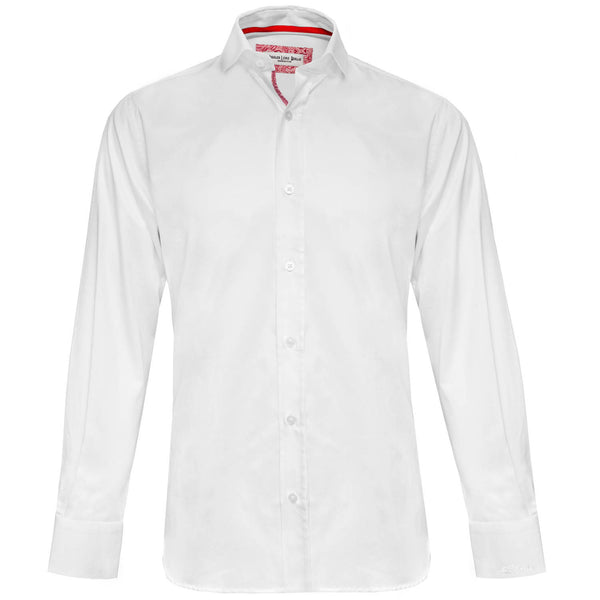 Blijah white long sleeved shirt Jiggler Lord berlue