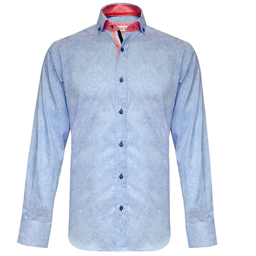 Coltran sky paisley long sleeved shirt Jiggler Lord berlue