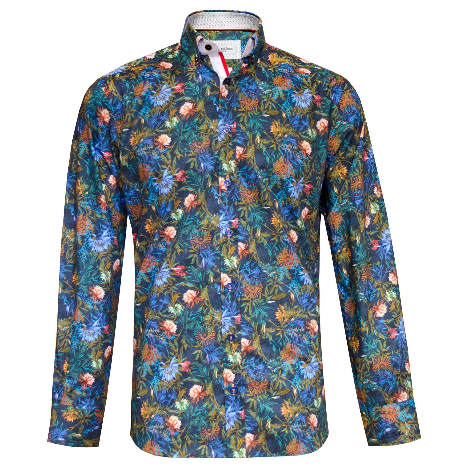 Gerrit multi coloured shirt Jiggler Lord Berlue