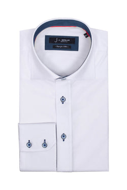 Premium Formal Long Sleeve Shirt – ODION - White