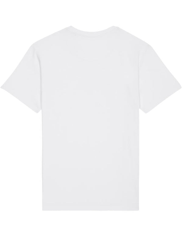Premium Regular Fit Organic Cotton T-shirt - OSBOURNE - White