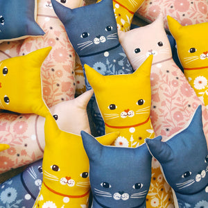 Cat Cushion Doll