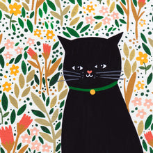 Load image into Gallery viewer, Cat Meadow Art Print