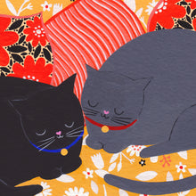 Load image into Gallery viewer, Cats Sleeping Art Print