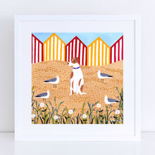 Load image into Gallery viewer, Fox Terrier Surrounded Art Print