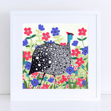 Load image into Gallery viewer, Guinea Fowl Art Print