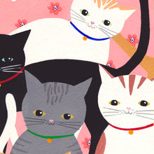Load image into Gallery viewer, Hello Cats Art Print