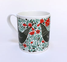 Load image into Gallery viewer, Chicken Among Foliage Mug