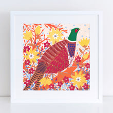 Load image into Gallery viewer, Pheasant Art Print