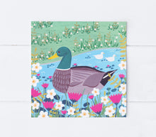 Load image into Gallery viewer, Duck Pond Greeting Card