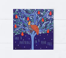 Load image into Gallery viewer, Partridge In A Pear Tree Greeting Card