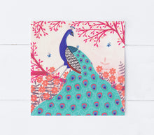 Load image into Gallery viewer, Peacock Greeting Card