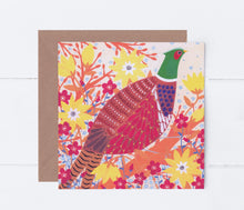 Load image into Gallery viewer, Pheasant Greeting Card