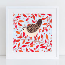 Load image into Gallery viewer, Winter Wren Art Print