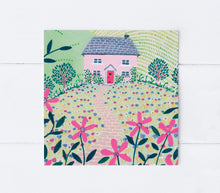 Load image into Gallery viewer, Pink Cottage Greeting Card