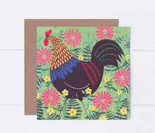 Load image into Gallery viewer, Cockerel Greeting Card