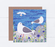 Load image into Gallery viewer, Seagulls Greeting Card