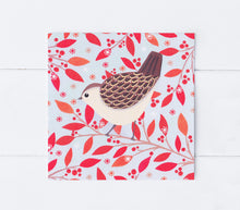 Load image into Gallery viewer, Winter Wren Greeting Card