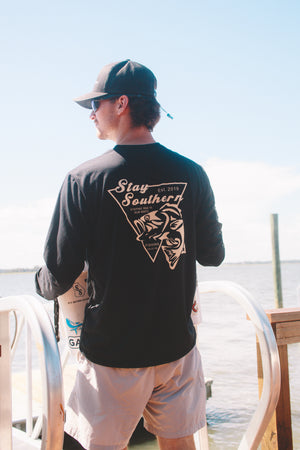 Stay Southern Performance Fishing Long Sleeve Shirt