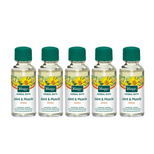 Arnica Joint & Muscle Herbal Bath (Set of 5)