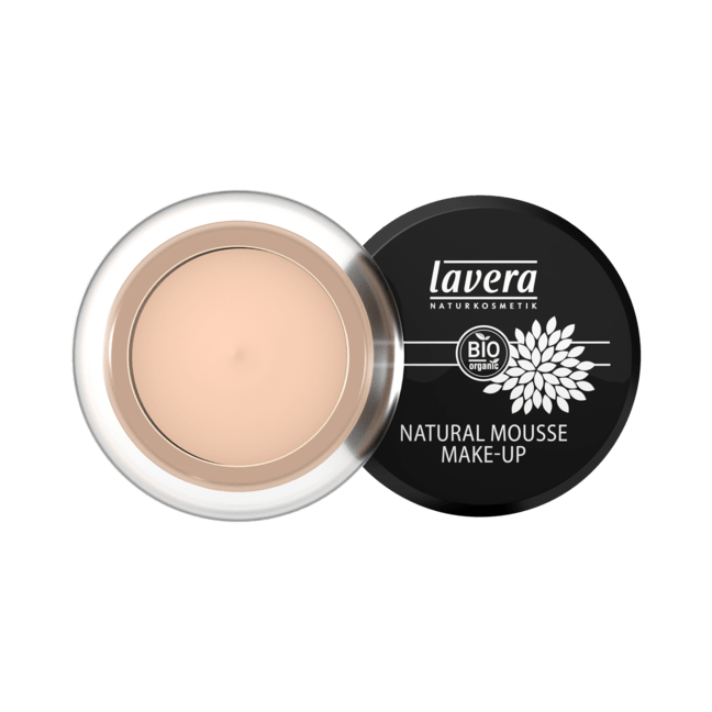 Natural Mousse Make-Up [Ivory 01] (0.52 fl.oz.)