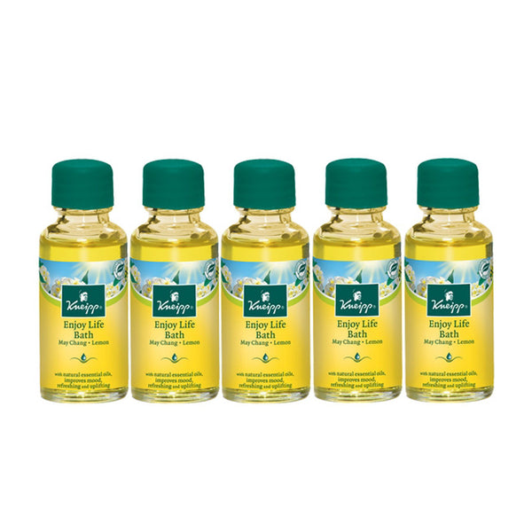 May Chang & Lemon Enjoy Life Herbal Bath (Set of 5)