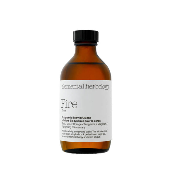 Fire Zest Body Infusion Massage Oil (5 fl.oz.)