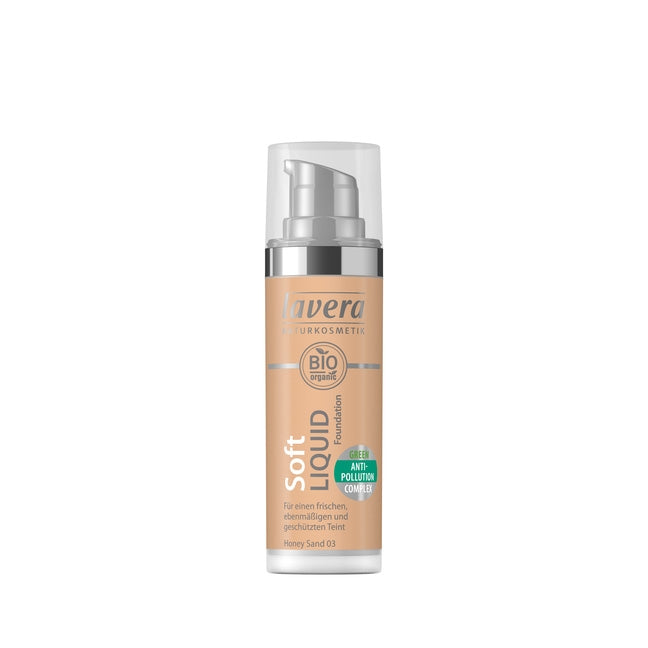 Soft Liquid Foundation [Honey Sand 03] (1 fl.oz.)
