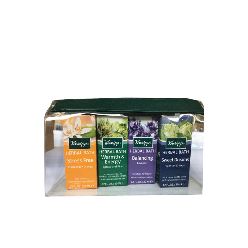 Set of 4 Travel Herbal Baths