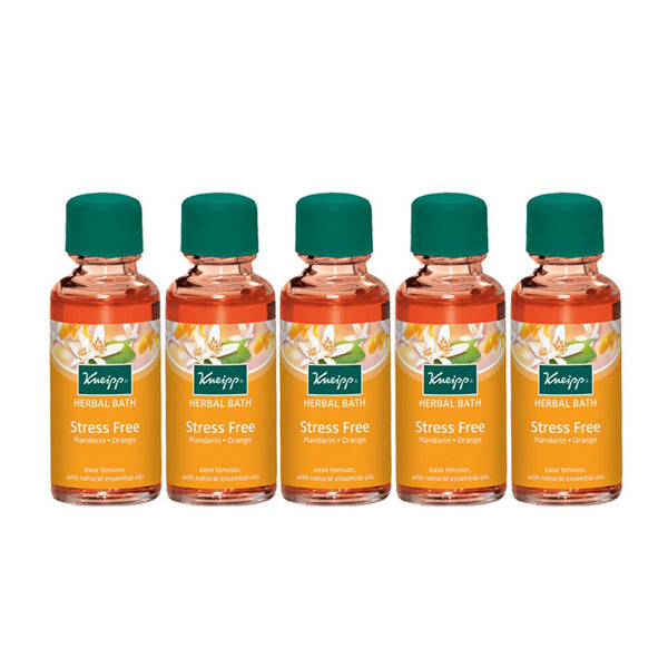Mandarin & Orange Stress Free Herbal Bath (Set of 5)
