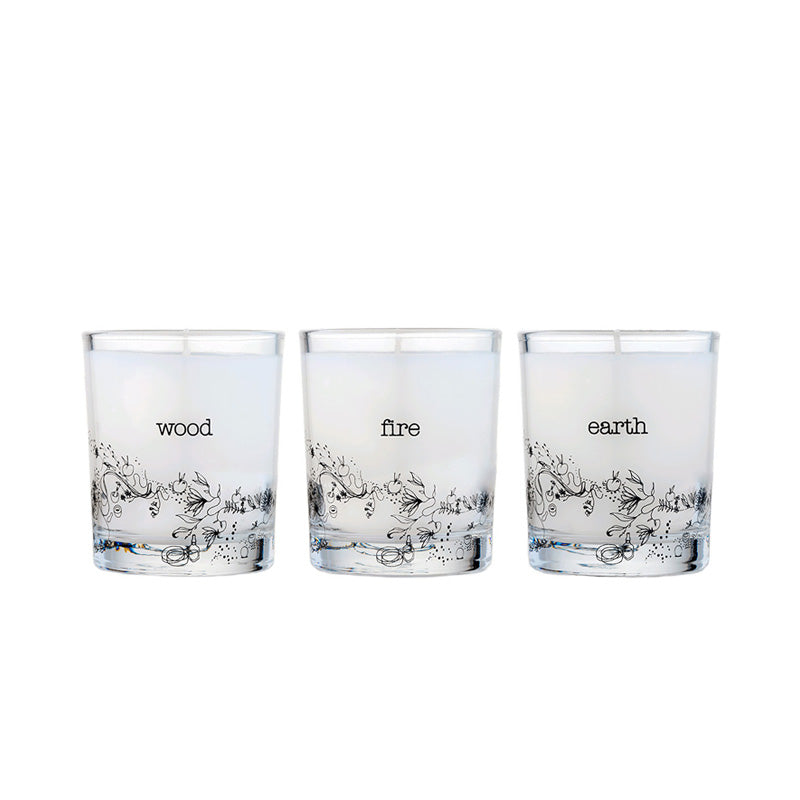 Elemental Candle Trio