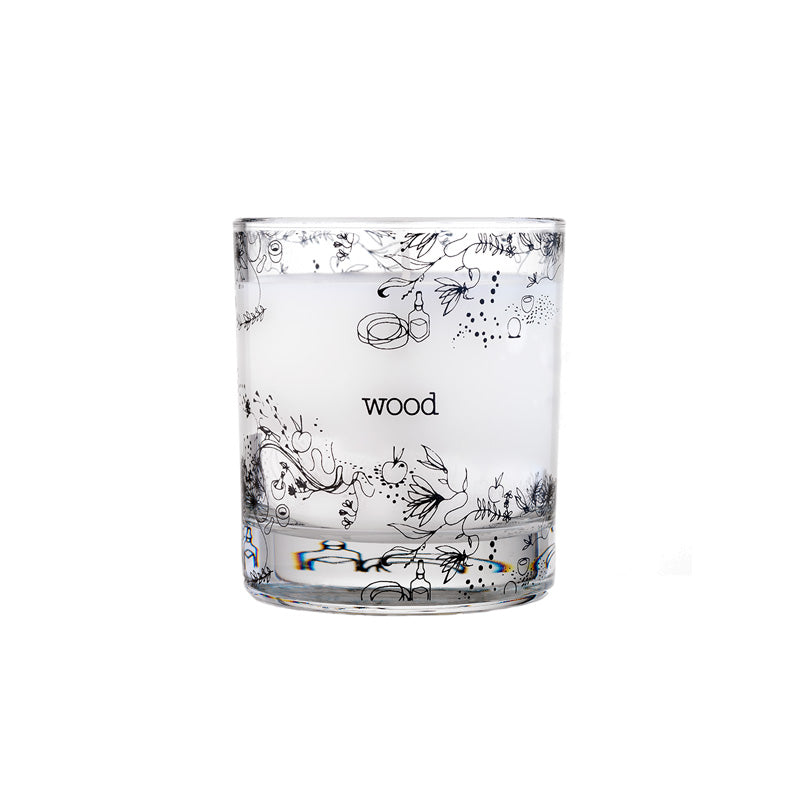 Wood Aromatherapy Candle (200g)