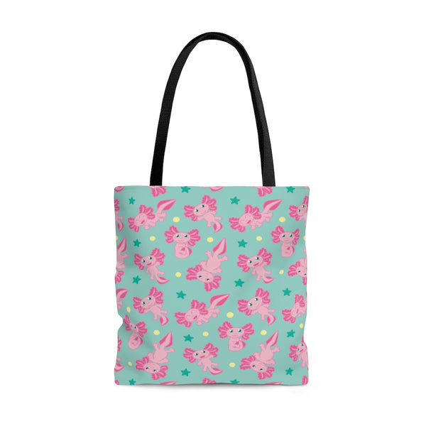 Cute Axolotl Tote Bag