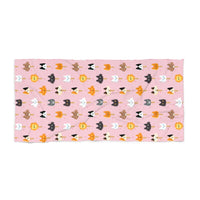 Popsicle Cats Beach Towel