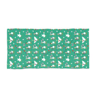 Warrior Geese Beach Towel