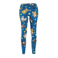 Dice Corgi Casual Leggings