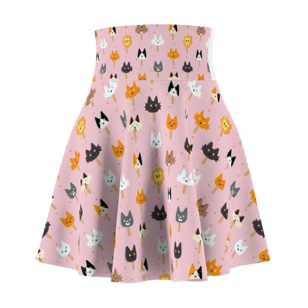 Popsicle Cats Women's Skater Skirt