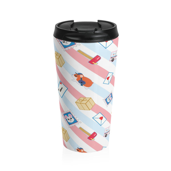 Postal Hamsters Stainless Steel Travel Mug