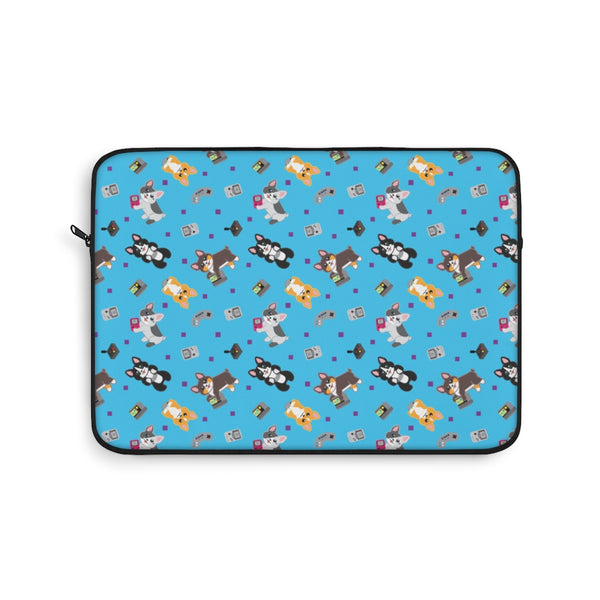 Gamer Corgi Laptop Sleeve