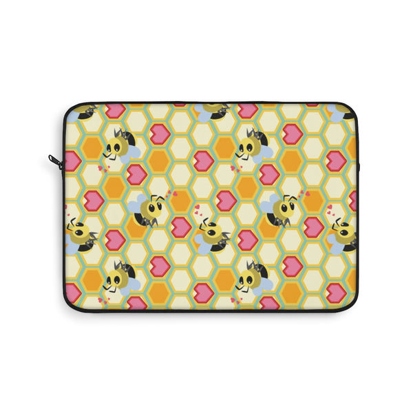 I Love Bees Laptop Sleeve