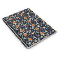 Tabletop Tabby Spiral Notebook - Ruled Line