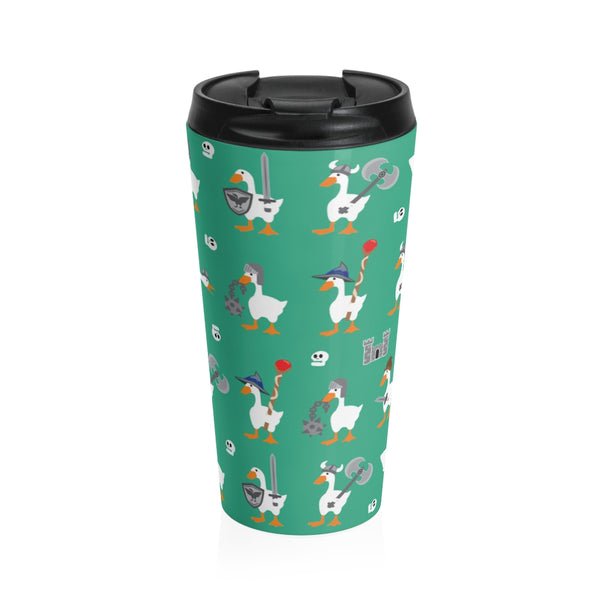 Warrior Geese Stainless Steel Travel Mug