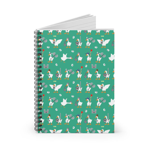 Warrior Geese Spiral Notebook - Ruled Line